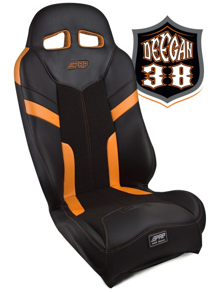 Deegan 38 Pre-runner seat in orange