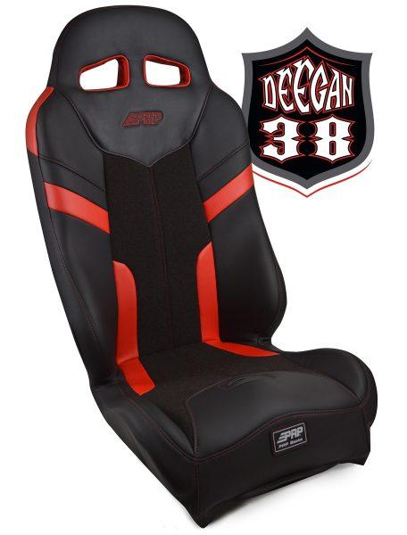 Deegan 38 Pre-runner seat in red