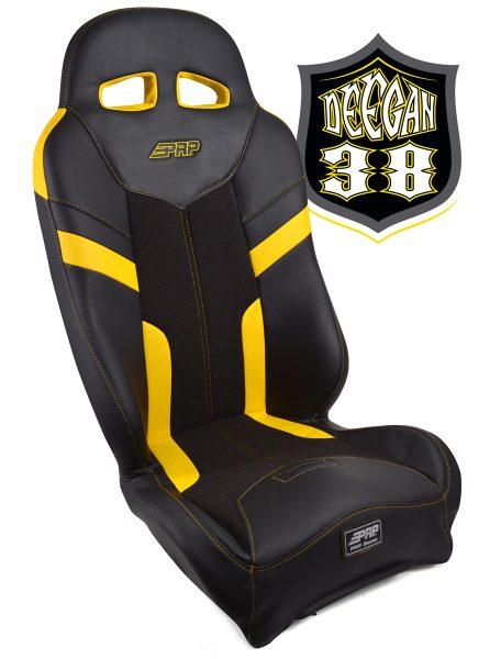 Deegan 38 Pre-runner seat in yellow