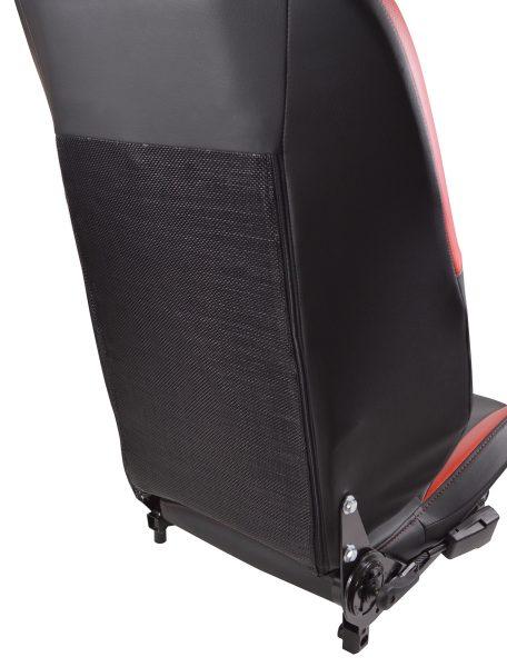Rear mesh on Polaris Slingshot Seat