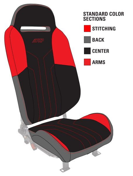 Color options for Polaris Slingshot Seats