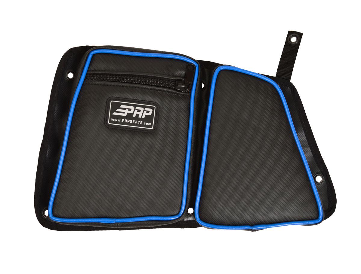 Rear Stock Door Bag Driver  sc 1 st  PRP Seats & RZR Stock Rear Door Bag with Knee Pad | PRP Seats