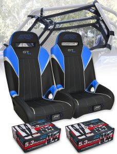 RZR Safety Seat Package Blue