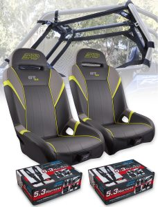 RZR Safety Seat Package Lime