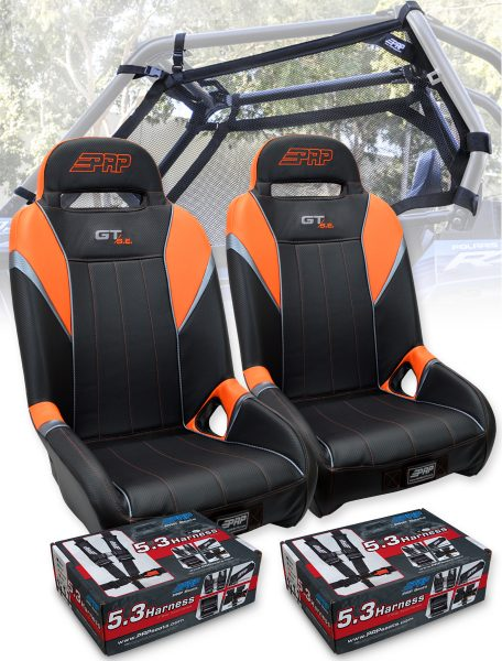 RZR Safety Seat Package Orange