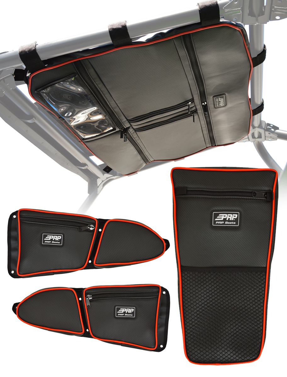 RZR Storage Package Red