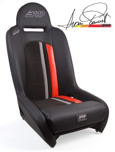 Ivan Stewart Ironman Suspension Seat with red Trim