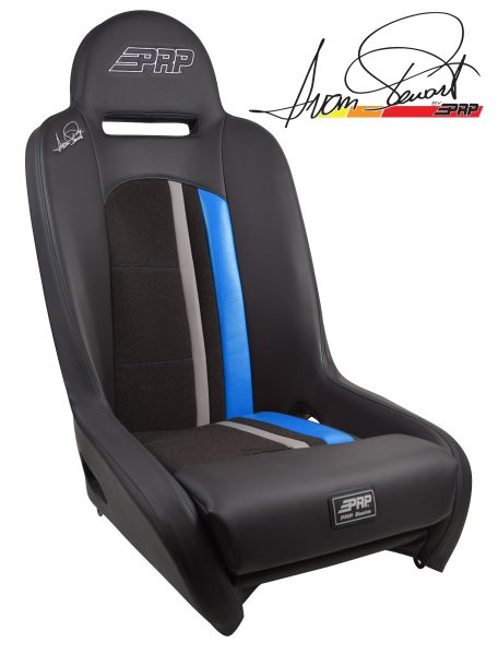Ivan Stewart Ironman Suspension Seat with Blue Trim