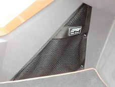 Polaris Slingshot Storage Net Installed