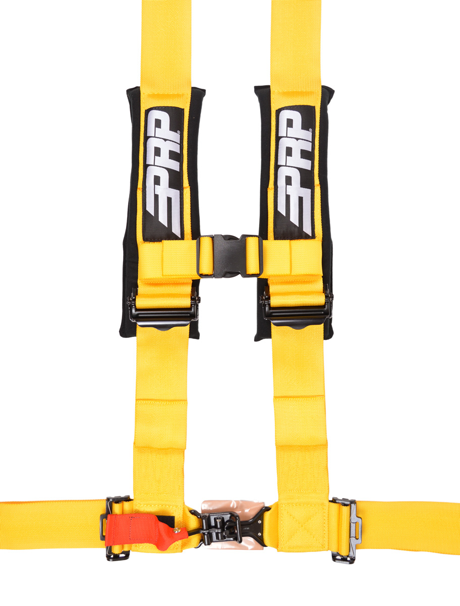 4 point, 3 inch harness in yellow