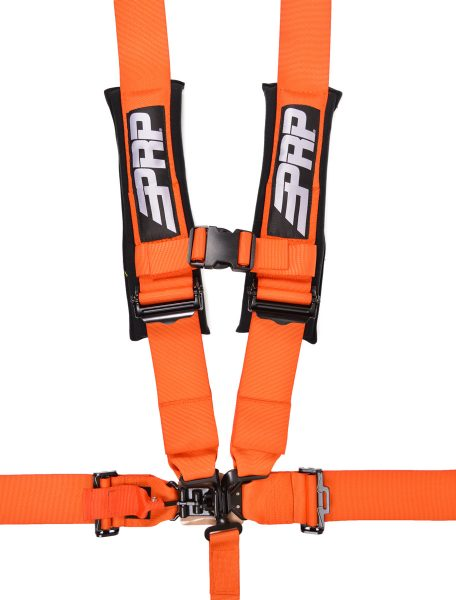 5 point, 3 inch harness in orange