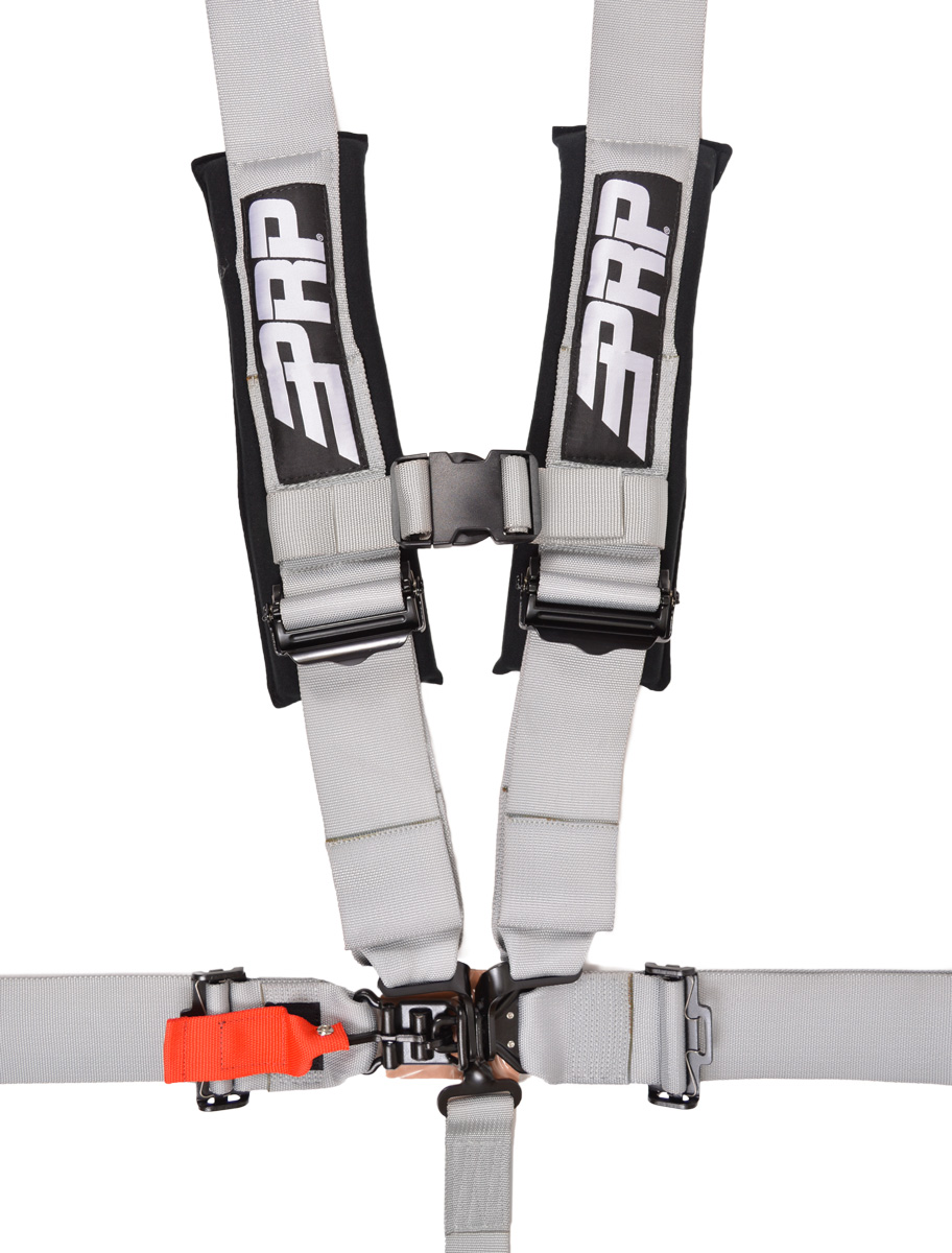 Off Road Safety Harness 53 Sfi 161 Prp Seats 5 Point 3 Inch In Silver
