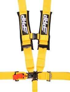 5 point, 3 inch harness in yellow