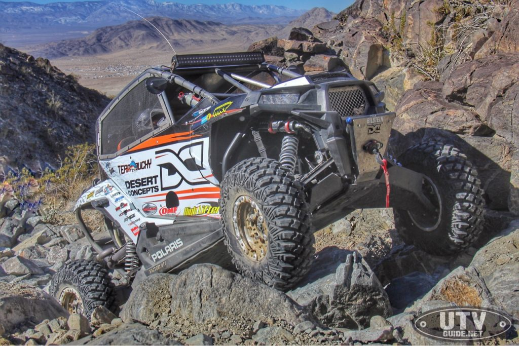 Team Ducky Racing's John Duckworth at King of the Hammers 2016