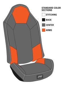 Polaris RZR Stock Seat Covers - Pair