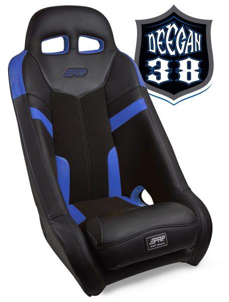 Deegan 38 UTV seat in blue