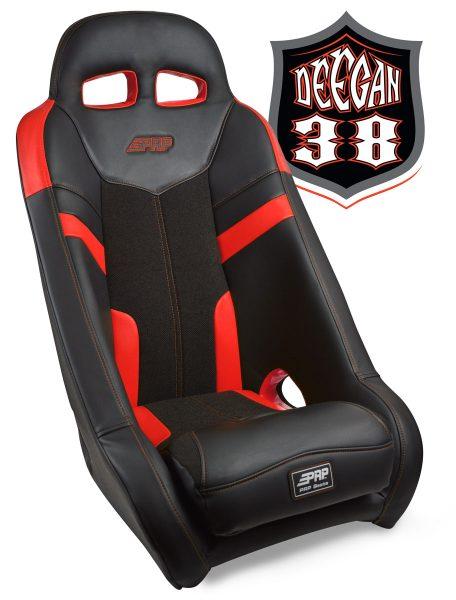 Deegan 38 UTV seat in red