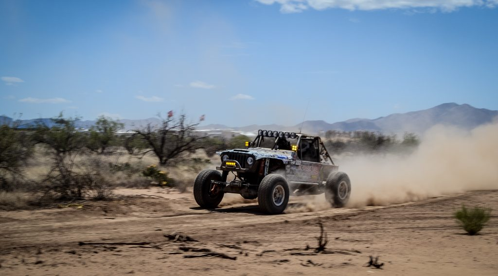 Rawlin McGhie on the pedal at Dirt Riot SW Round 2 Race