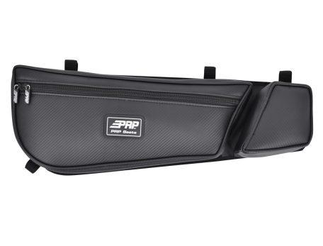 Can-Am Maverick stock door bag with knee pad