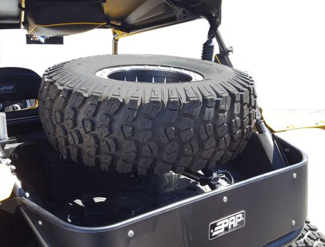 Yamaha YXZ Spare Tire Mount with Tire