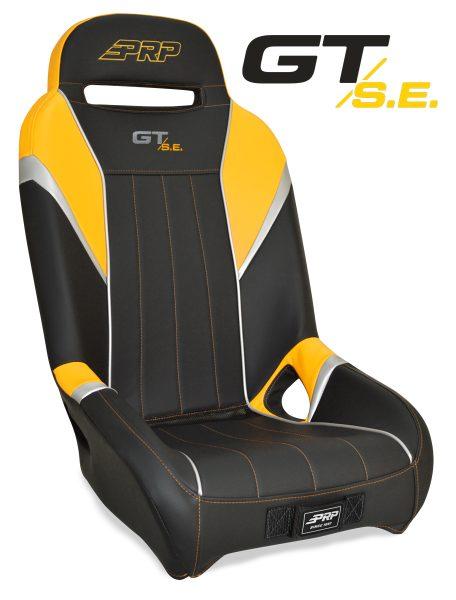 Yellow GTSE seat for the Yamaha YXZ