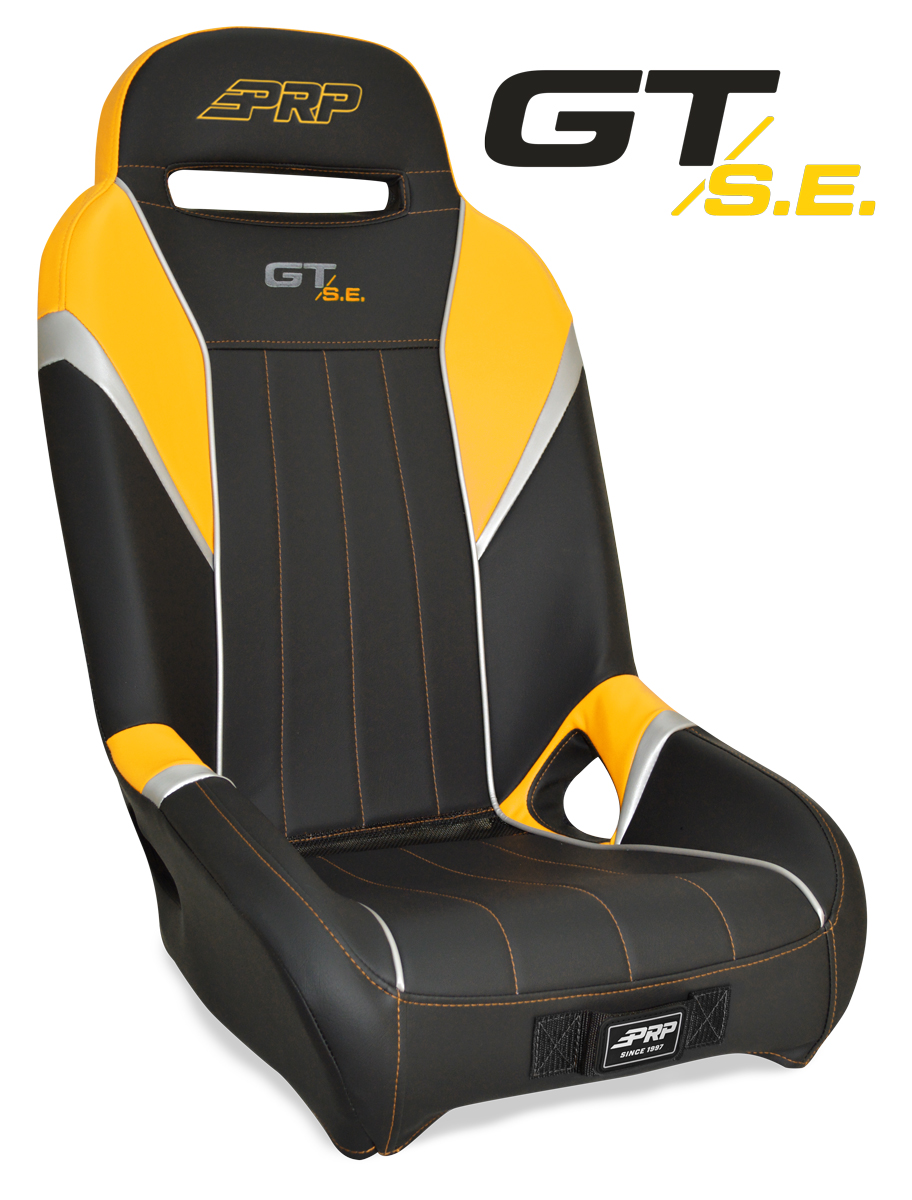 Yellow GTSE seat for the Yamaha YXZ