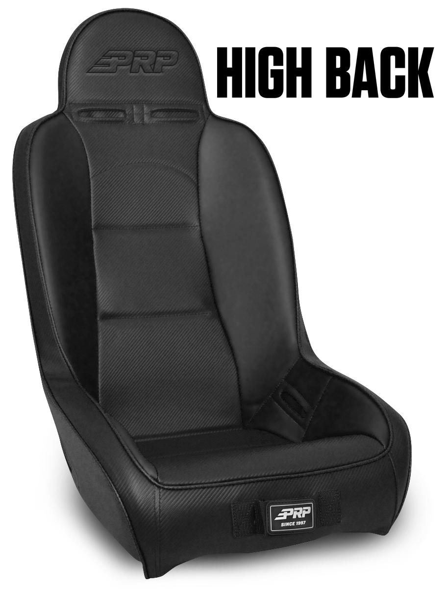 Strange High Back For Can Am Black Pair Inzonedesignstudio Interior Chair Design Inzonedesignstudiocom