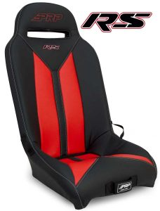 Red RS seats for Yamaha's