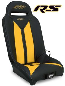 Yellow RS seat for Yamaha's