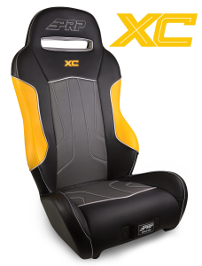 Yellow XC seats for the Yamaha YXZ