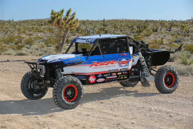 Wes Miller Unleases his 2017 Polaris RZR for the Factory Team