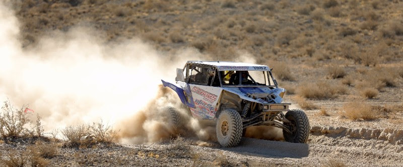 Jeremiah Staggs races ahead at the Pahrump 250