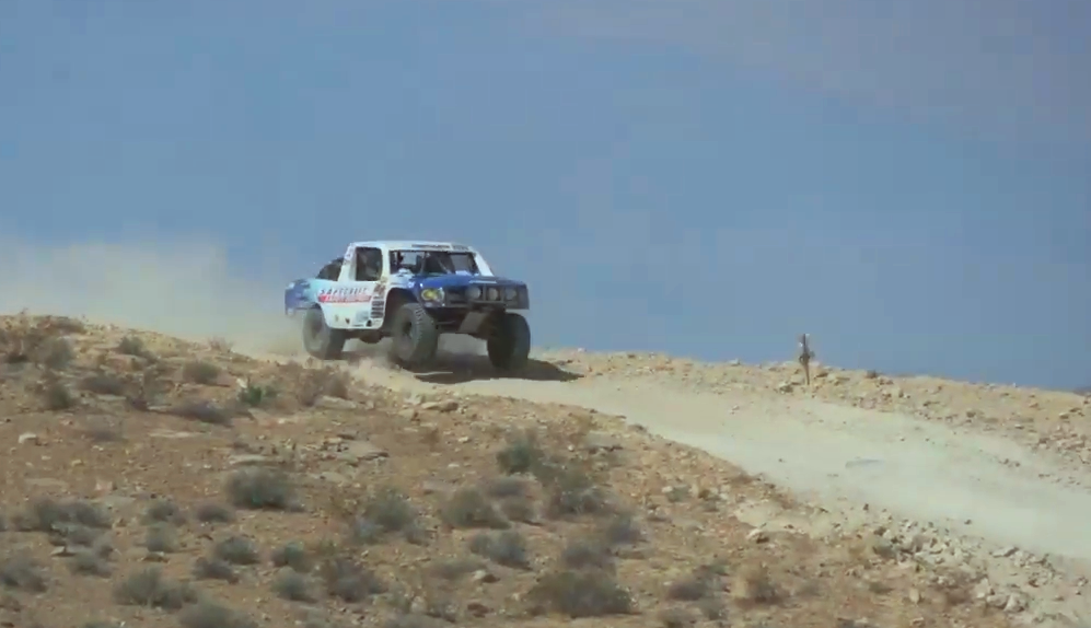 Josh Cobb Racing the Mint 400 in the Trophy Lite Class