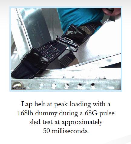 SFI testing Belt Dumping