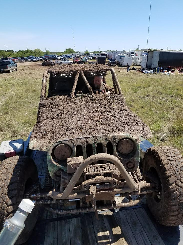 Duane Garretson after the Ultra 4 race in Davis OK