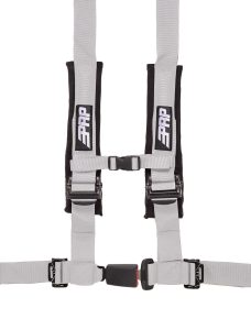 PRP 4 point harness with auto latch, silver