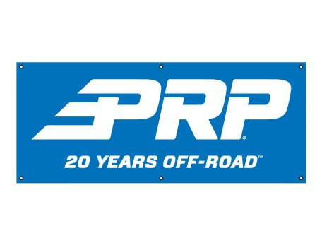 PRP 20 Years Off-Road Banner