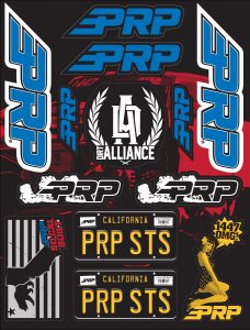 PRP Dirt Alliance Sticker Sheet