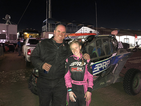Unofficial Finish at the 2018 King of the Hammers