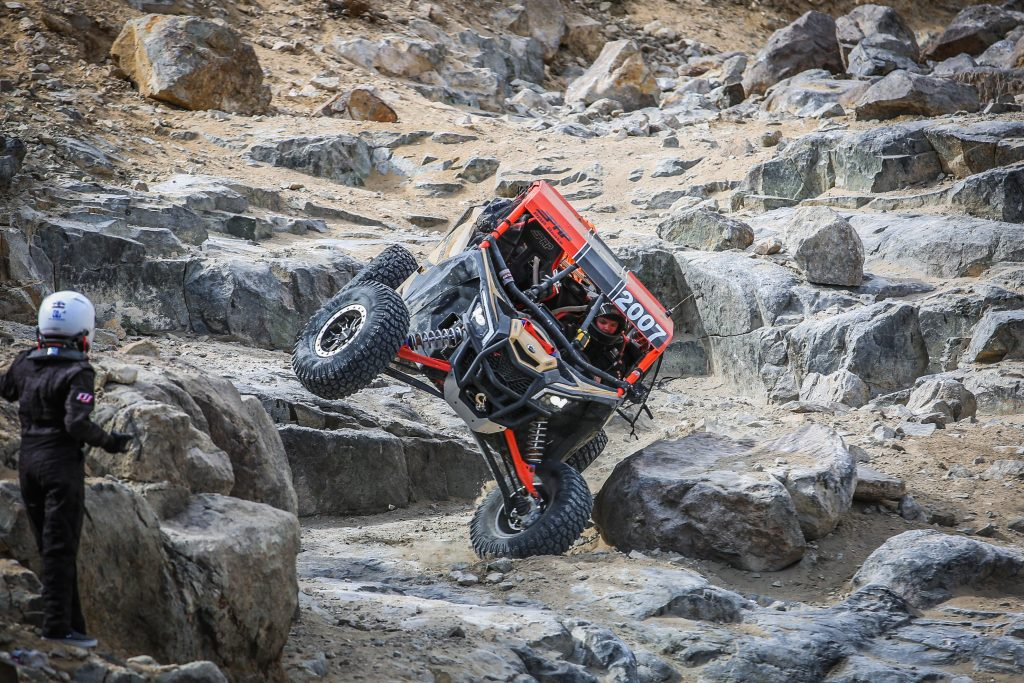 Aaron going down Backdoor at 2017 King of the Hammers
