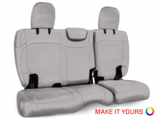 Rear bench cover for Wrangler JL