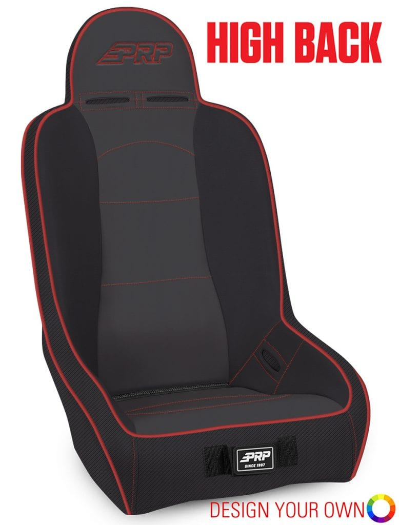 High Back Suspension Seat for Honda Talon from PRP Seats