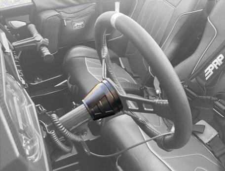PRP Steering Wheel Hub Installed in Polaris RZR
