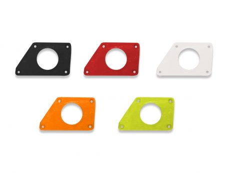 SSV Media Controller Plate for MRB2 available in black, red, white, orange and lime color options
