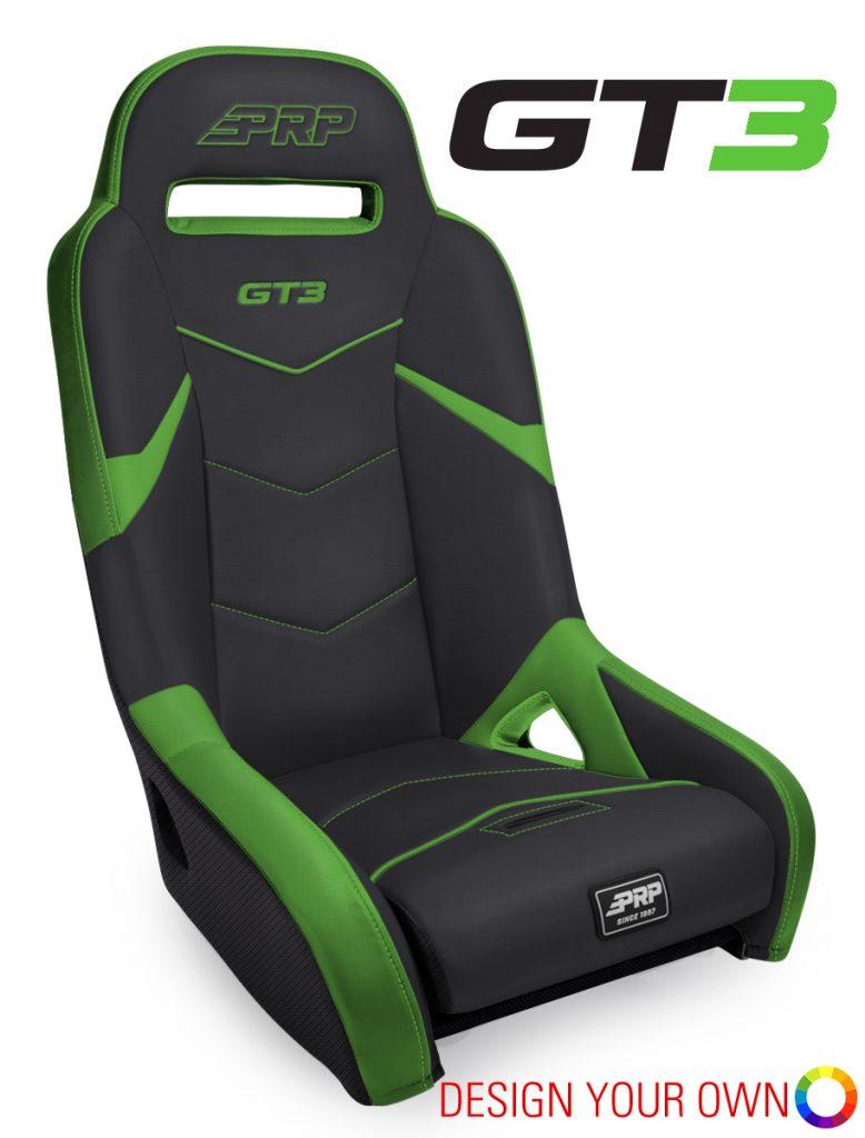 PRP's GT3 Seat for Kawasaki KRX