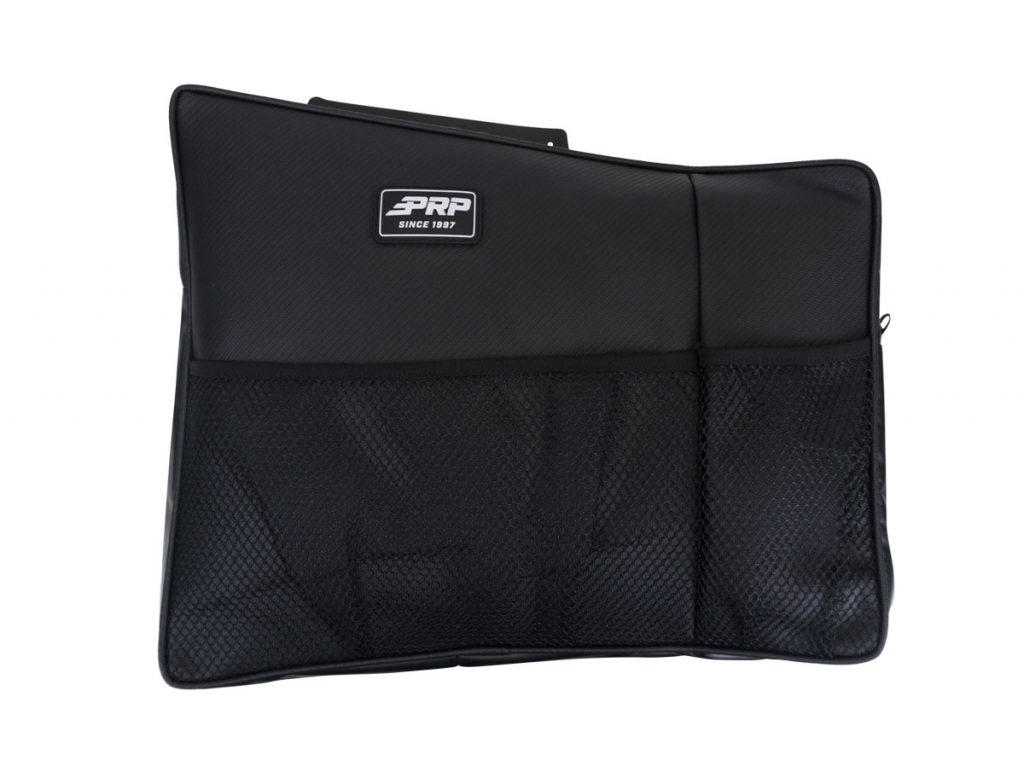 Firewall / Behind the Seat Storage Bags for Kawasaki KRX from PRP Seats (Driver Side)