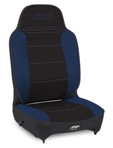 Enduro High Back - Black and Blue