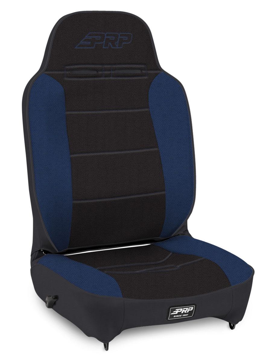 Enduro High Back - Black and Blue