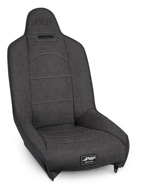 Roadster High Back Suspension Seat in All Grey