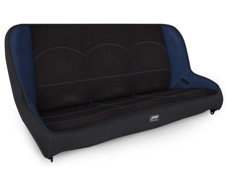 Rear Bench for Jeep JK in Black and Blue